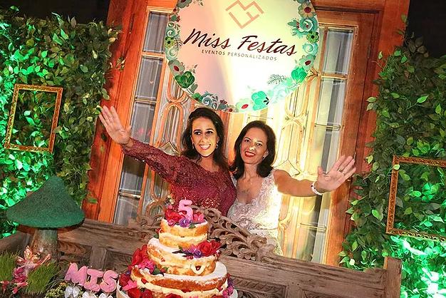 Miss Festas 5 Anos Nossa Festa